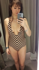 A nice swimsuit I got before the summer
