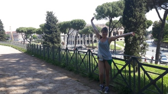 In Rome for mine and Stevies 6 months day!